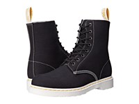 Dr. Martens Page 8 Eye Boot Black Canvas Lace Up Boots