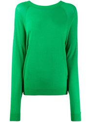 P.A.R.O.S.H. Back Tie Fastened Jumper Green