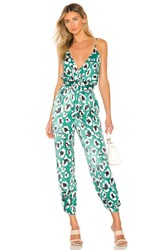 House Of Harlow X Revolve Rudy Jumpsuit Green