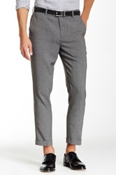 Wd.Ny Solid Suit Separates Pant Gray
