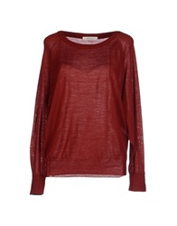 Sessun Sweaters Brick Red