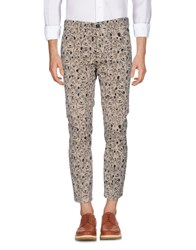 Class Roberto Cavalli Trousers Casual Trousers Beige