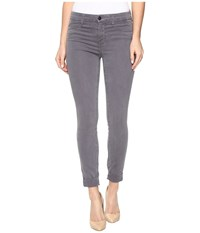 J Brand Anja Cuffed Crop In Storm Grey Storm Grey Women's Jeans Gray