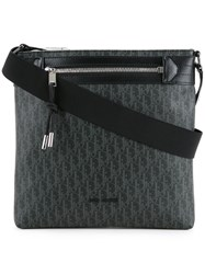 Christian Dior Homme Top Zip Pouch Grey
