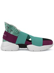Emilio Pucci City Up Sneakers Green