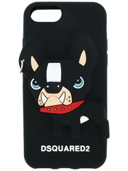 Dsquared2 Dog Iphone 7 Case Silicone Black