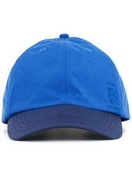 Kent And Curwen Embroidered Logo Baseball Cap Blue