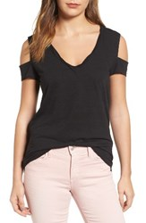 Pam And Gela Women's Cold Shoulder Tee