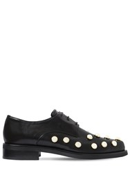 Coliac 20Mm Joh Embellished Leather Shoes Black