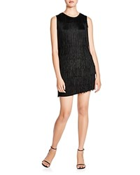 Generation Love Fringe Dress Black