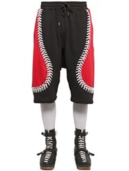 Ktz Baseball Seams Cotton Jogging Shorts