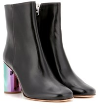 Acne Studios Althea Leather Ankle Boots Black