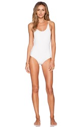 Rachel Pally Honor Swimsuit White