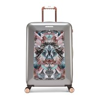Ted Baker Mirrored Minerals Suitcase Silver