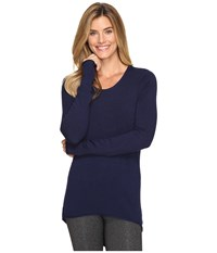 Soybu Yvette Tunic Admiral Women's Blouse Navy