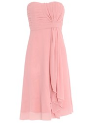Chase 7 Classic Scarf Midi Dress Pink