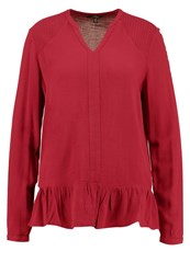 Mavi Jeans Blouse Rumba Red Bordeaux