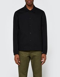 Wings Horns Stretch Woven Coach's Jacket Black