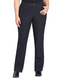 Lafayette 148 New York Curvy Bi Stretch Slim Leg Jeans Dark Indigo Women's