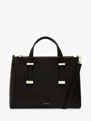 Ted Baker Judyy Large Leather Tote Bag Black