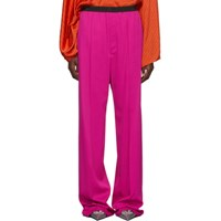 Balenciaga Pink Fluid Tailored Trousers