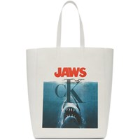 Calvin Klein 205W39nyc White Jaws Edition Tote