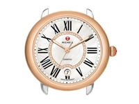 Michele Serein 16 Diamond Dial Two Tone Rose Gold
