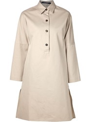 Sofie D'hoore Shirt Dress Nude And Neutrals