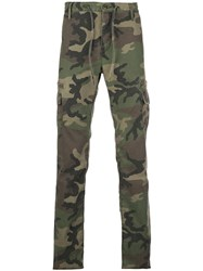 Rta Camouflage Print Trousers 60