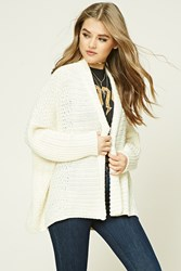 Forever 21 Seed Knit Dolman Cardigan