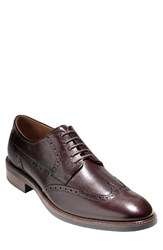 Cole Haan Men's 'Warren' Wingtip Oxford Chestnut Leather