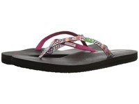 Sanuk Yoga Joy Funk Magenta Multi Tribal Stripe Women's Sandals