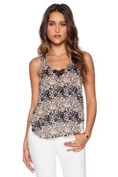 Lucca Couture Dressy Tank Black