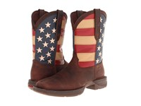 Durango Db5554 Flag Dark Brown Cowboy Boots