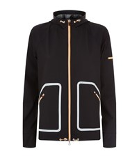 Monreal Wave Windbreaker Jacket Female Black