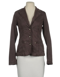 Liu Jeans Blazers Dark Brown