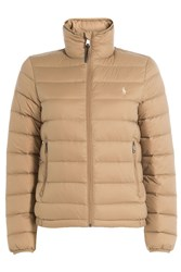 Polo Ralph Lauren Quilted Down Jacket Brown