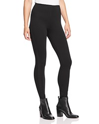 Lysse Cameo Crochet Trim Leggings Black