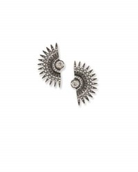 Lulu Frost Beacon Crystal Stud Earrings