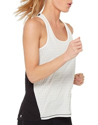 Mpg Nanoz Mesh Racerback Tank Top Natural