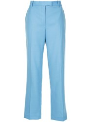 The Row Lada Trousers Blue