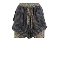 Vivienne Westwood Cannone Shorts Green Check