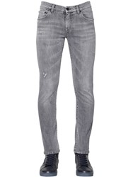 Dolce And Gabbana 16Cm Stretch Cotton Denim Jeans