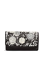 Santi Imitation Pearl Clutch Black Ivory