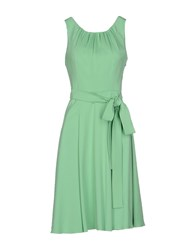 Andrea Incontri Dresses Knee Length Dresses Women Light Green
