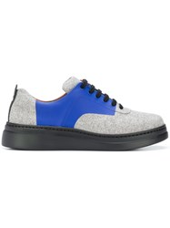 Camper Twins Lace Up Shoes Grey