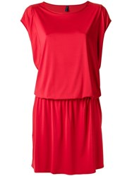 Lygia And Nanny Round Neck Tunic Red