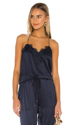 Cami Nyc The Racer Charmeuse In Navy. Cosmos