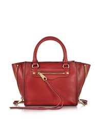 Rebecca Minkoff Side Zip Mini Regan Tote Red