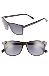 Boss Men's '0634 S' 55Mm Sunglasses Gray Black